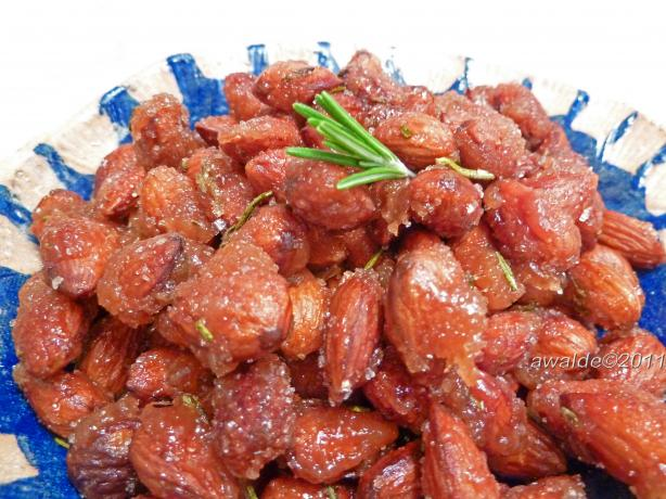 Rosemary Candied Almonds
