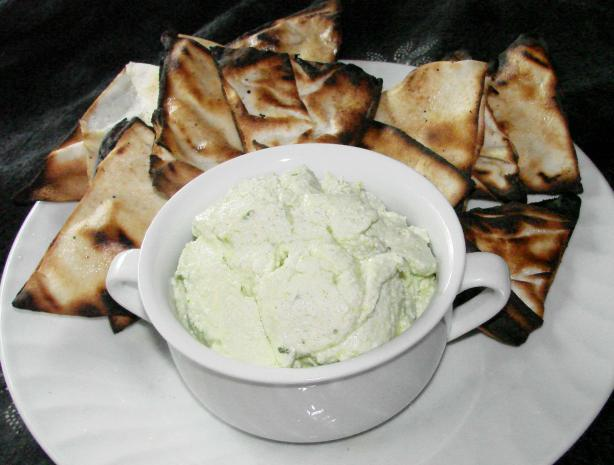 Feta and Scallion Dip With Olive Oil and Lemon (Bobby Flay)