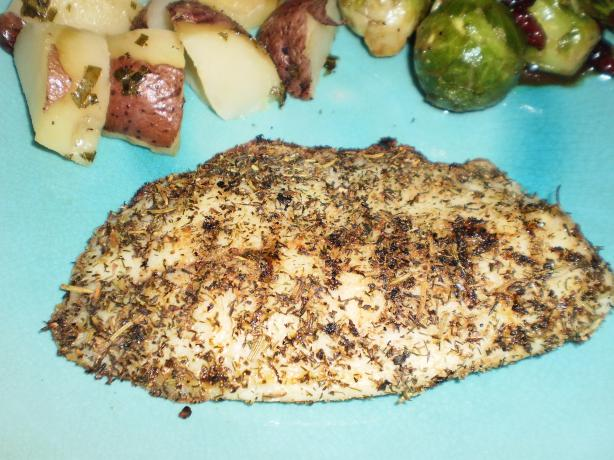 Greek Herb Rub for Fish