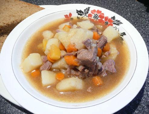 Norwegian Beef Stew (Lapskaus)