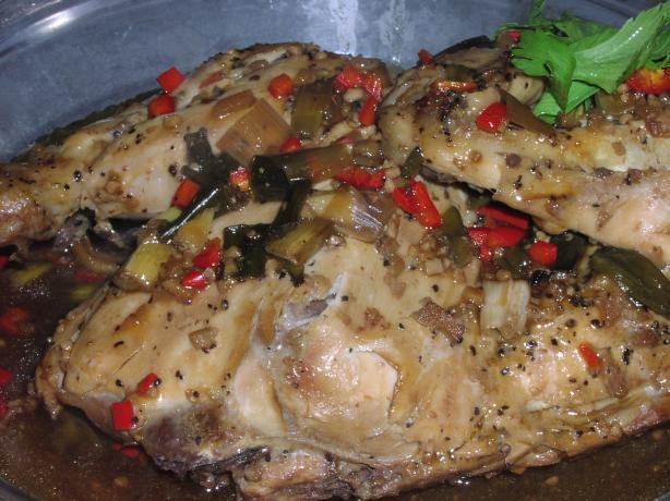 Spicy Chinese Chicken (Slow Cooker)