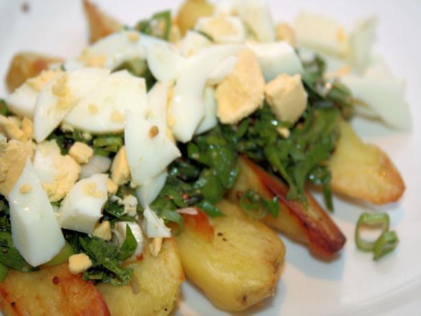 Roasted Fingerling Potato Salad
