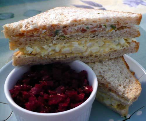 Smorgastarta - Swedish Sandwich Torte