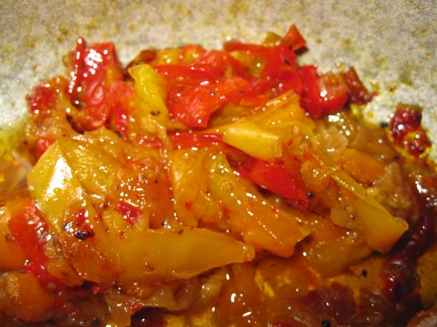 Peperonata (Stewed Sweet Peppers)