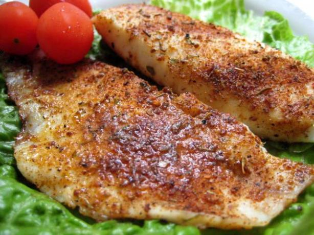 Seasoned Talapia Fillets
