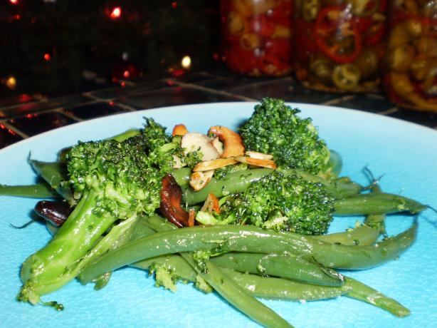 Broccoli and Green Bean Polka