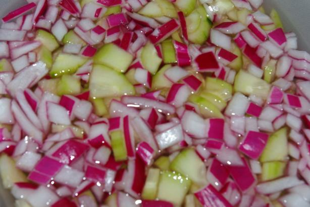 Sweet Cucumber Salad