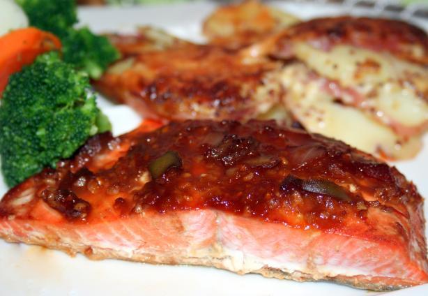 Asian Influnced Salmon