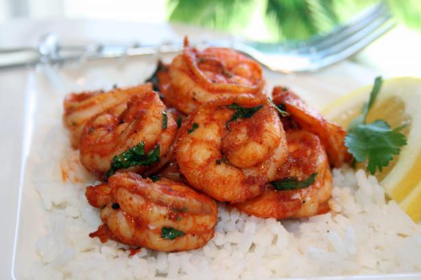 Broiled Shrimp With Tunisian Spice