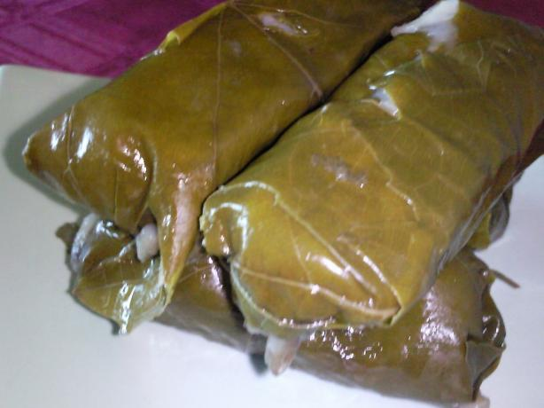 Stuffed Grape Leaves - Warak Einab