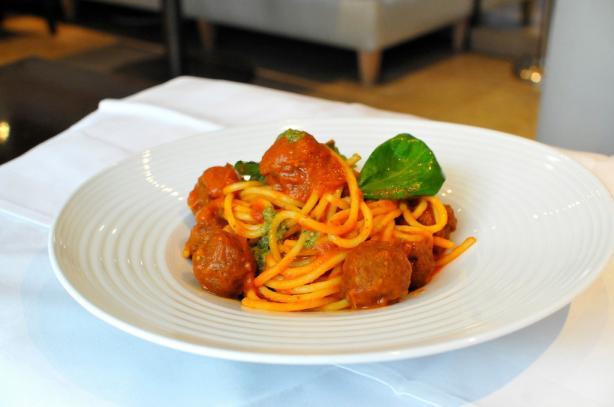 World Cup Italian Meatball Pasta