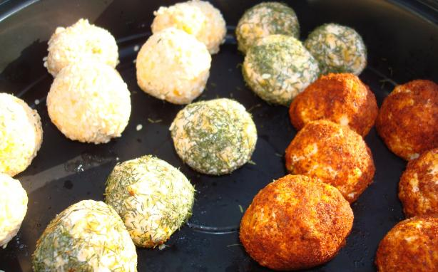 Baby Cheese Balls