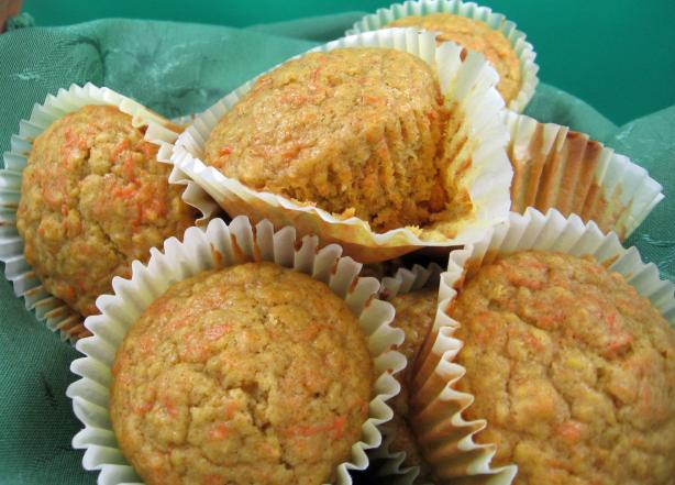 Maple Carrot Muffins