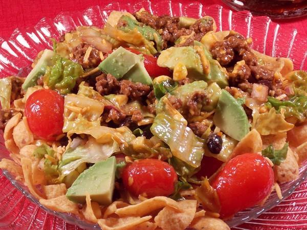 Taco Frito Salad