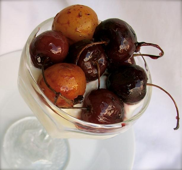 Roasted Cherries