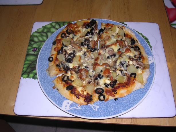 Ange's Vegetarian Pizza