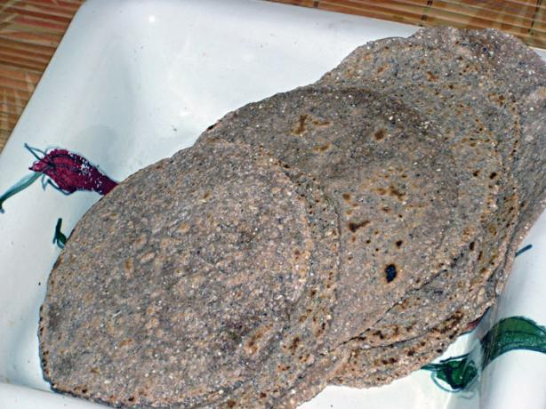 Blue Corn and Spelt Tortillas