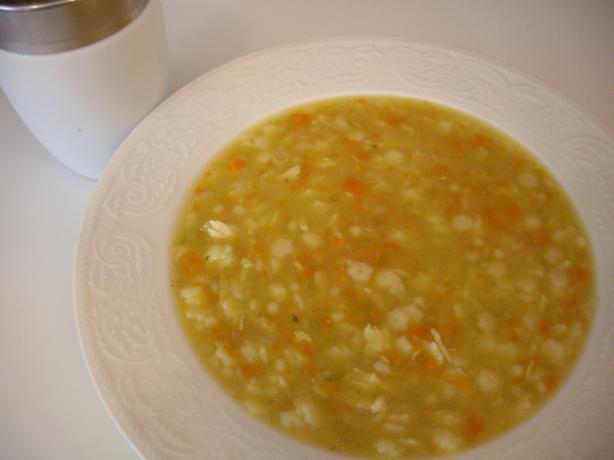 Pastina Chicken Soup