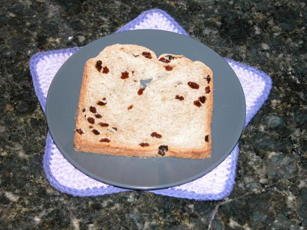 Raisin Bread - Bread Machine