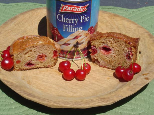 Double Cherry Quick Bread