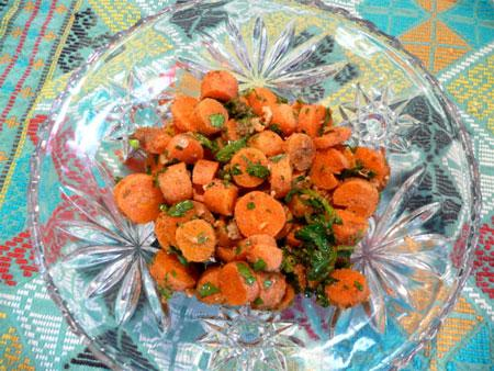 Libyan Carrot Dish