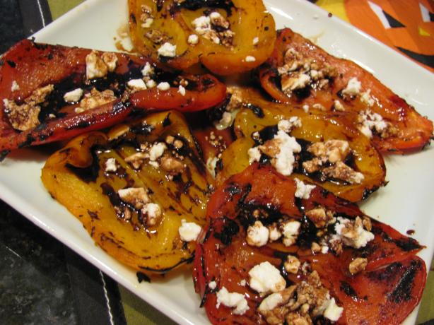Grilled Rainbow Peppers (Salad)