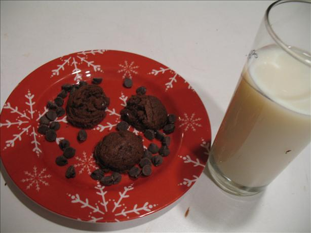 Mocha Truffle Chocolate Cookies