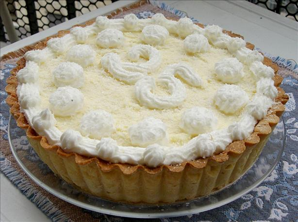 Kittencal's Bakery Coconut Cream Pie
