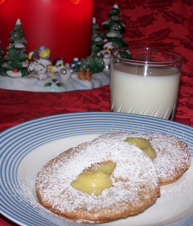 English Lemon-Curd Cookies