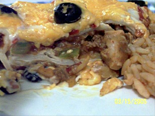 Wet Burrito Casserole