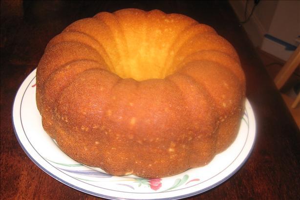 Grocery Store Gossip Pound Cake