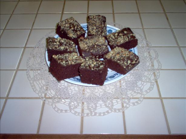 Applesauce Brownie Cake