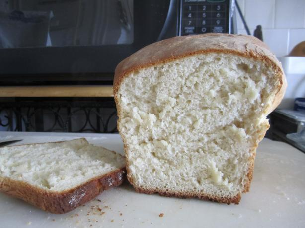 Potato Bread (using instant potato and dry milk)