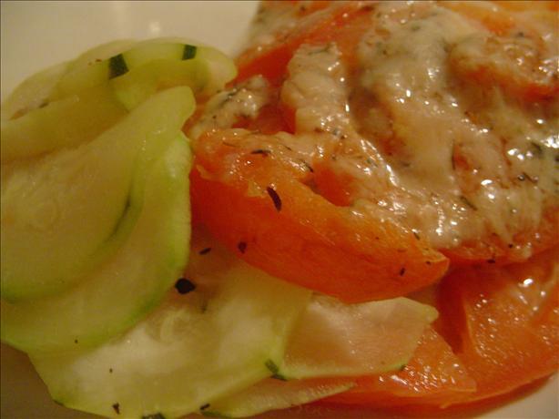 Tomato-Zucchini Gratin