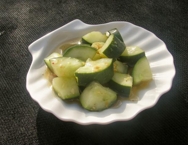 Asian-Style Cucumber Salad