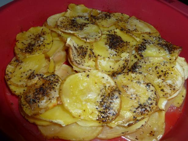Drunken Potatoes