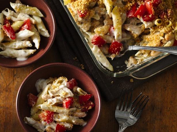 Parmesan Chicken Penne