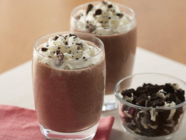 Chocolate Banana Cookies and Cream Smoothies