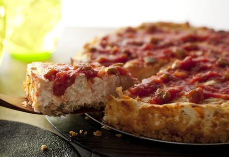 Chunky Salsa Cheesecake