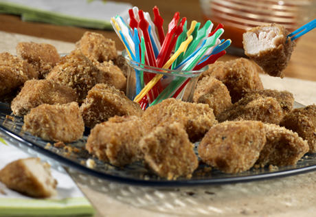 Onion Chicken Nuggets