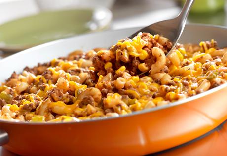 Skillet Beef & Macaroni