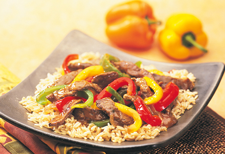 Steakhouse Beef & Pepper Stir-Fry