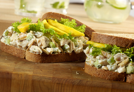 Miami Chicken Salad Sandwiches