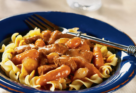 Slow Cooked Greek-Style Beef Stew