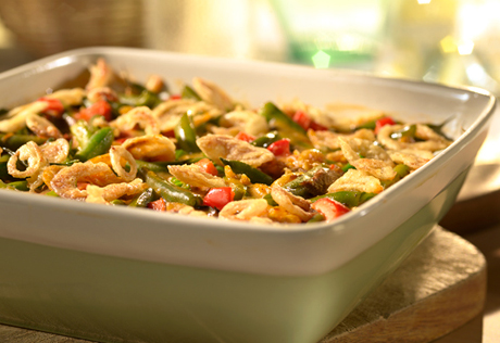 Golden Green Bean Casserole
