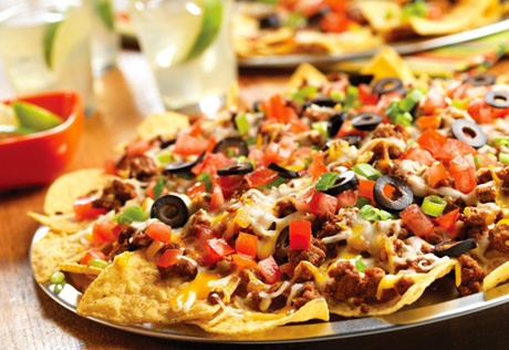 Festive Taco Nachos