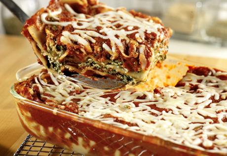 Extra-Easy Spinach Lasagna