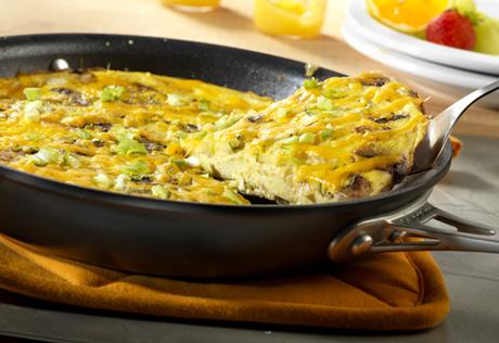 Cheddar Broccoli Frittata