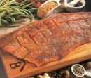Planked Salmon with Ginger Spice Rub