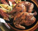 Game Hens with Mustard-Garlic-Rosemary Marinade